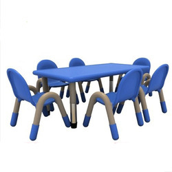 Rectangle Table For Playschool Kids