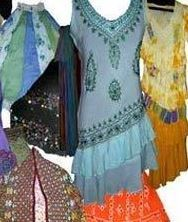 Printed Multicolor Embroidered Ladies Garment, For Clothing