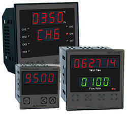 Multispan Temperature Indicator