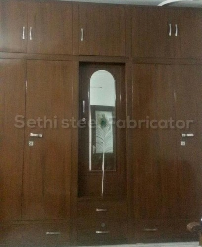 Metal Wall Mounted Almirah Warranty 2 Year Rs 625 Square Feet Sethi Steel Fabricator Id 5025060962