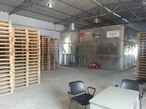 Wooden Pallet Heat Treatment Plant, उष्मा उपचार सयंत्र ...