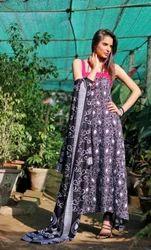 Sleeveless Pakistani Linen Suits