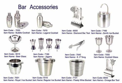 Steel Bars Bar Accessories Exporter From Moradabad