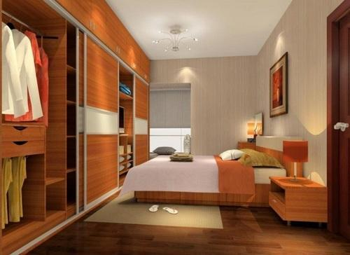 Wooden Bedroom Wardrobe at Rs 1200 /square feet(s) | लकड़ी की ...