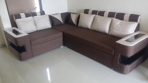 New Pattern Handle Sofa In L Shape स फ Goodwill Pune Id