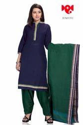 9d5aceb9eb Payal Dark Blue Plain Suit, Designer Suits For Women, Ladies Punjabi ...