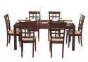 Godrej Interio Leo Dining Table Indian Mahogany