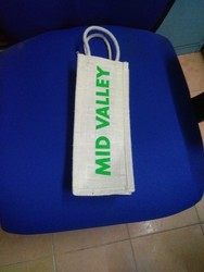 Jute Water Bottle Bag