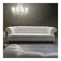 Chesterfield Wooden Living Room Sofa