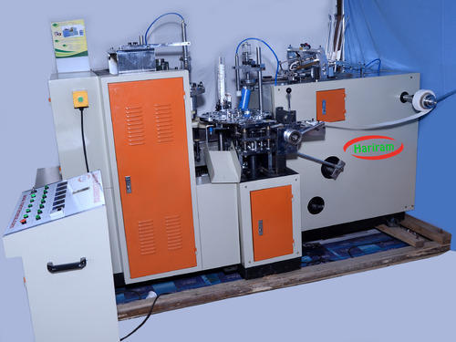Automatic Paper Glass Making Machine, Production Capacity :1000-2000 Pieces Per Hour