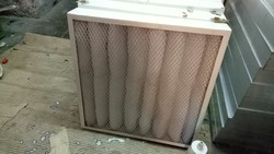 Air filter for motors and panels
