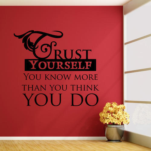 positive quotes wall decals at rs 199 /sticker | kcc nagar | jaipur