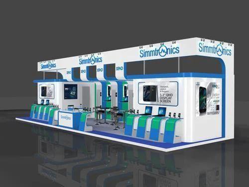 Exhibition Stall Installation : Customized exhibition stall installation conceptwo design