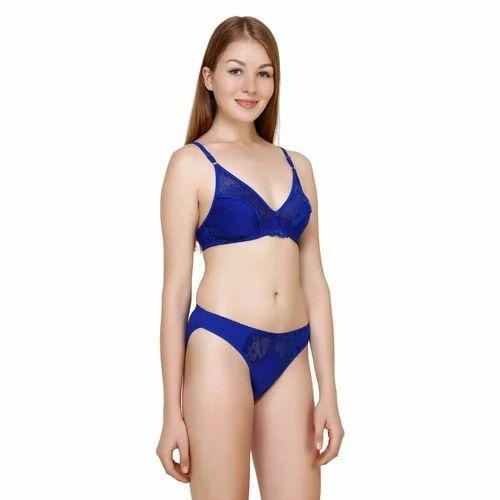 f855992ca3 Purple Cotton Ladies Bra Panty Sets, Size: 34B, Rs 120 /pair | ID ...