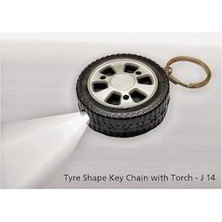 Tyre Shaped Key Ring