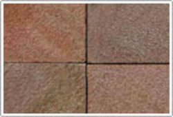 Radiant Red Sandstone Tiles