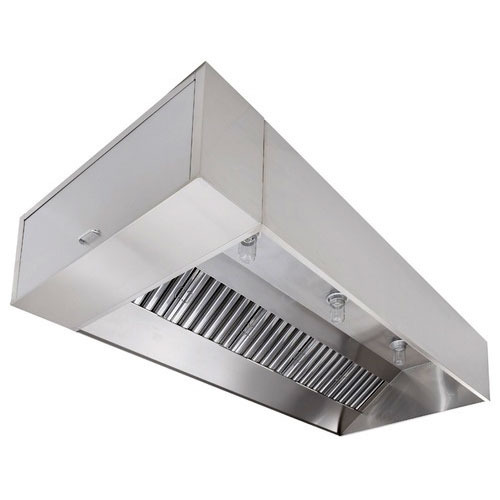Wall Mounted Stainless Steel Kitchen Exhaust Hood
