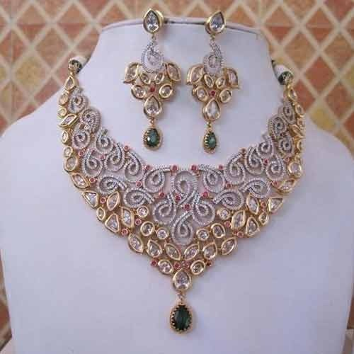 473ea31ff American Diamond Set at Rs 1400  piece