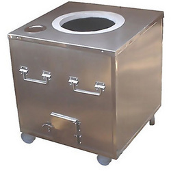 MAIKS Customizes Stainless Steel Square Tandoor