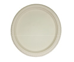 12 Inch Biodegradable Round Plate