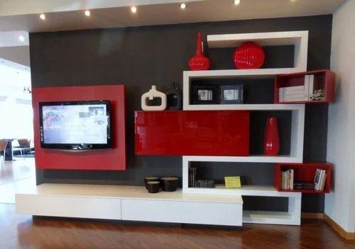 designer wall tv unit - Designer Wall Unit