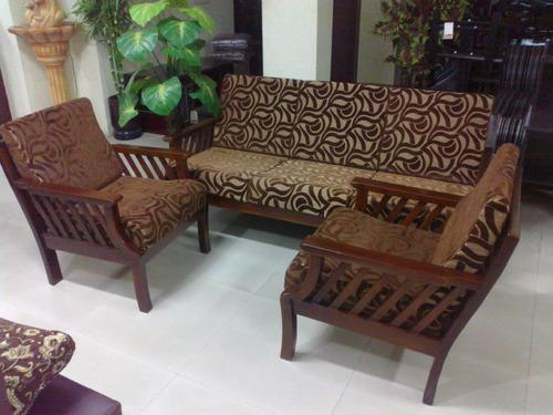 Wooden Sofa Teakwood Furniture Oasis Interiors Comforts
