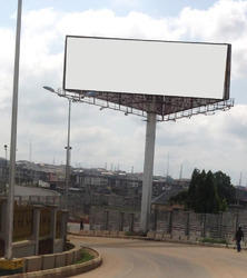 Advertisement Unipole