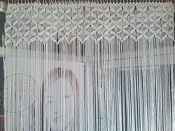 Indiancraft String Macrame Curtain, Size: 4*7
