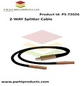 Pwht 2-way Splitter Cable, Packaging Type: Packet