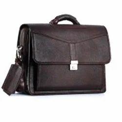 Brown NDM Portfolio Bag