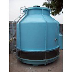 Round Bottle Shape Cooling Tower