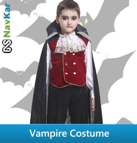 Vampire Costume Scary Classical Halloween Fancy Dress, Fancy ...