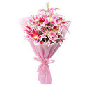 Luxurious Lily Flower Bouquet