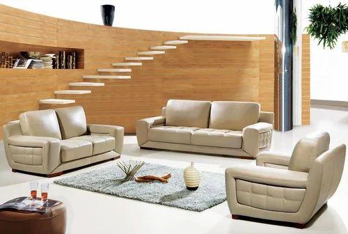 Cream Antique Modern Luxury Sofa Set