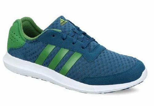 Adidas Men Green Blue Sports Shoes 6aaac5d49