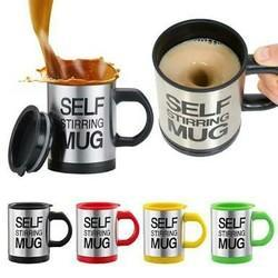 Self Stirring Drinking Mug
