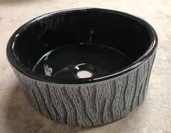Wash Basin Ceramic Printed Tabletop Basins, For Home