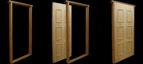 pressed steel door frames - Door Frames