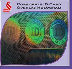 Corporate ID Holographic Overlay