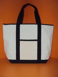 Recycled Organic Cotton XL Shopping Tote Bag