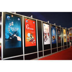 Corporate LED Exhibition Stand