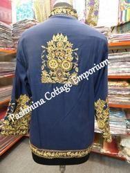 Zari Embroidered Jacket, Size: L