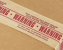 Reinforcement Pilfer Proof Warning Tape