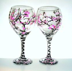 Ceramic Painted Glasses