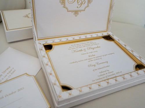 Luxury wedding invitation card at rs 450 piece sector 6 noida luxury wedding invitation card stopboris Images