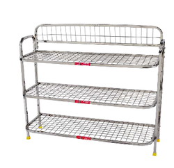 ss kitchen rack - stainless steel round pipe kitchen rack