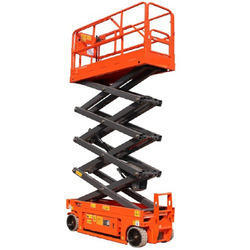 Self Propelled Hydraulic Scissor Lifting Machine