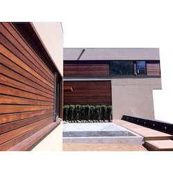 IPE Wood Wall Cladding