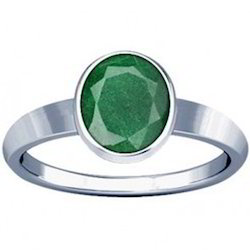 Aventurine Sterling Silver Ring