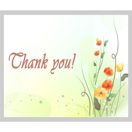 Thank you card personal card lakshmi cottage industry chennai thank you card m4hsunfo